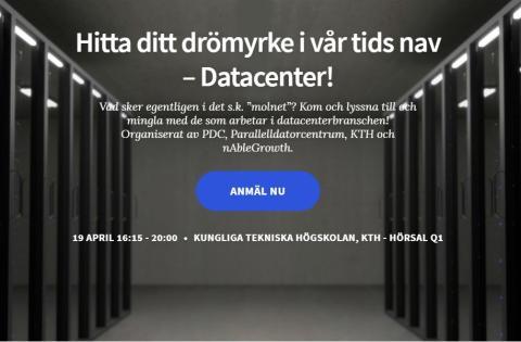 Hitta ditt drömyrke i vår tids nav – Datacenter!
