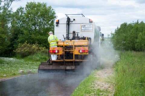 37 miles of Moray roads to be treated in surface dressing programme - beginning tomorrow