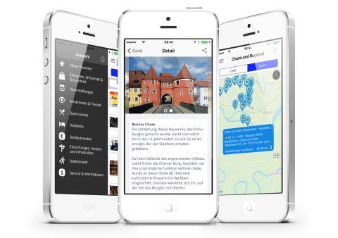 Heimat-Apps für ChamLand und ArberLand