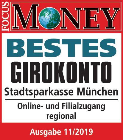 Unabhängiger Test zeigt: Das beste Girokonto in München bietet die Stadtsparkasse München