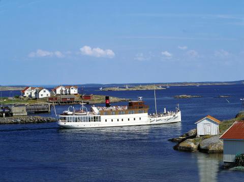 Pressbild - Strömma Skärgårdsbåtar - Skärgårdskryssning till Marstrand
