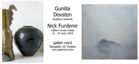 Gunilla Dovsten och Nick Furderer ställer ut i Örebro