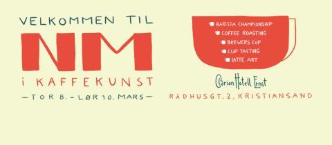 Kaffe-NM starter denne uken