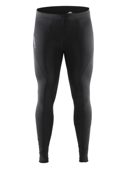 Delta Compression long tights för herr i färgen black