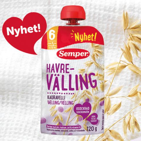 Endelig Semper velling til Norge – og det i en klemmepose