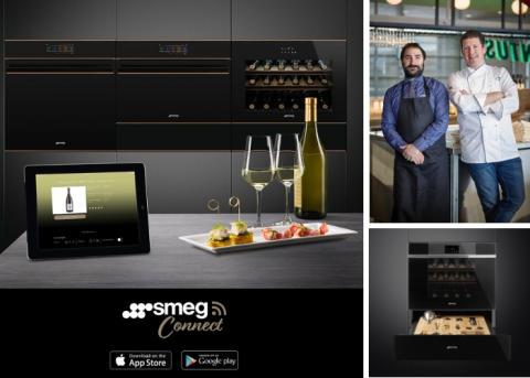 SMEGCONNECT: En ny generation af tilsluttede Smeg husholdningsapparater.