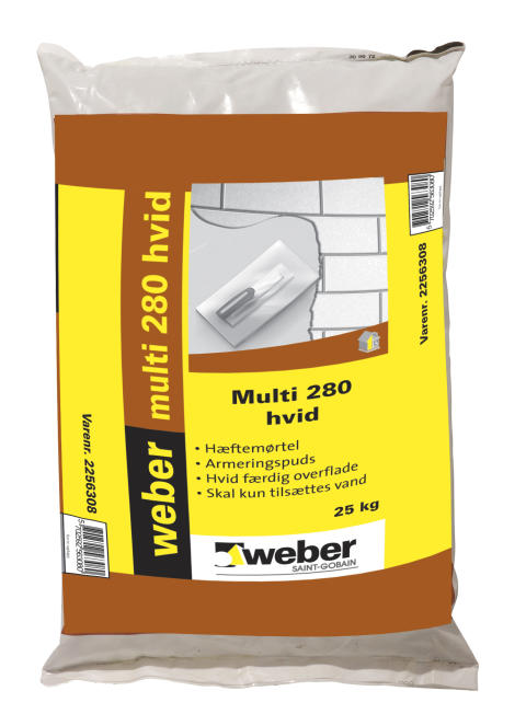 weber multi 280 hvid