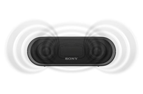 SRS-XB20 von Sony_schwarz_3