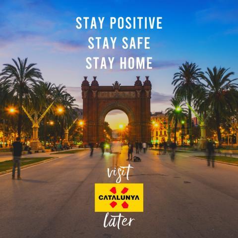 Visit Catalonia, later