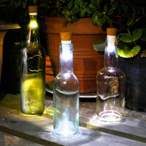 Flasklampa - Bottle light