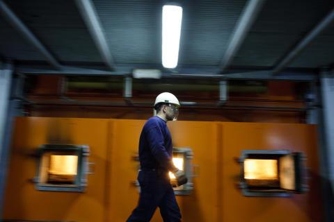Dalkia byter olja mot biobränsle i sjukhus energicentral