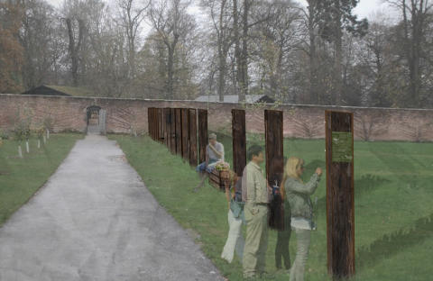 Gibside's Walled Garden to host Northumbria University students' artwork