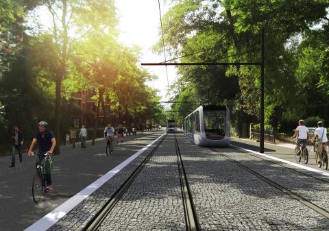 WSP generalkonsult vid projektering av Lunds spårvagnsdepå