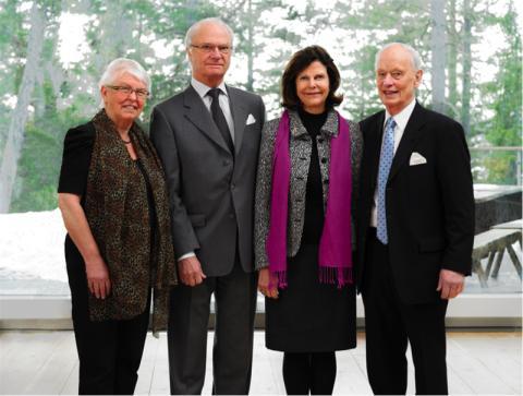 I går hedrades Artipelag med ett besök av H.M. Konung Carl XVI Gustaf och H.M. Drottning Silvia.
