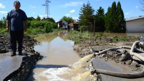 Grundfos hjälper vid översvämningar på Balkan
