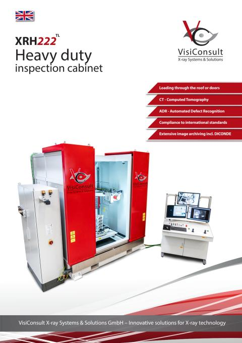 XRH222 TL - Heavy duty X-ray inspection cabinet