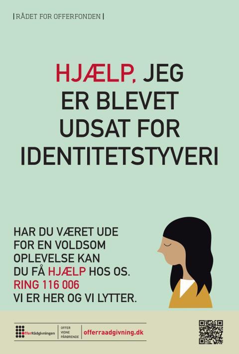 Plakat: Jeg er blevet udsat for identitetstyveri