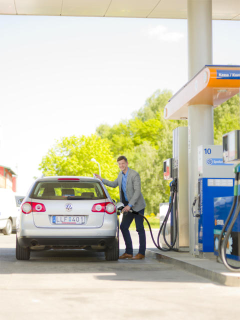 Diesel+ nu ute på Statoils stationer