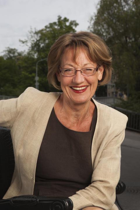 Författarträff med Gudrun Schyman