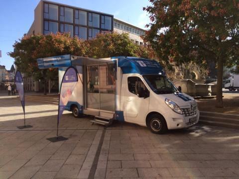 Beratungsmobil der Unabhängigen Patientenberatung kommt am 21. Februar nach Trier.