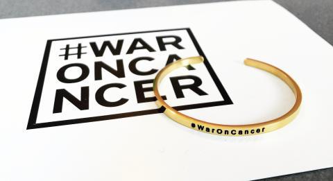 Ur&Penn stolt återförsäljare åt WarOnCancer