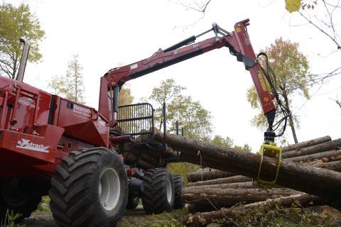 Nytt projekt ska utveckla självstyrande skogsmaskiner