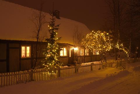 Julelys uden kæmperegning