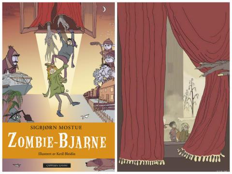 Sigbjørn Mostue med humoristisk zombie-serie
