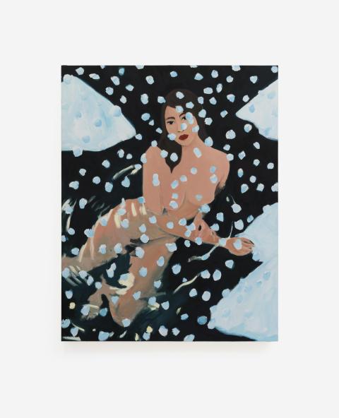 LA Dreams: Becky Kolsrud, Nude in Snow, 2018
