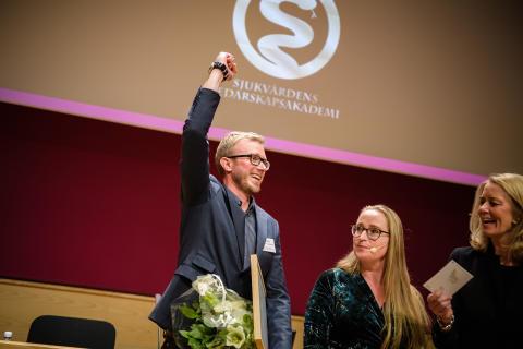 Göteborgare blev Framtidens ledare i sjukvården 2017