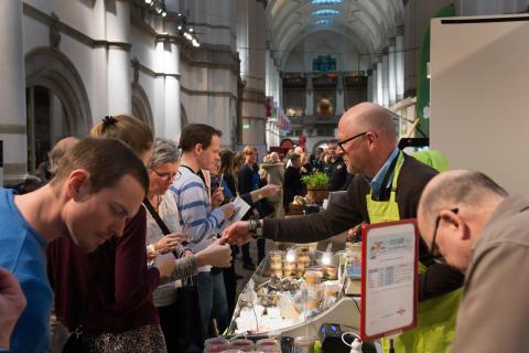 Rekordmånga besökte Ostfestivalen på Nordiska museet