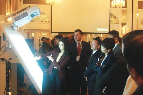 Epson interactive projectors jazz up UPS APAC leadership conference