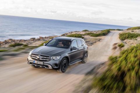 Mercedes-Benz GLC med omfattende oppdatering
