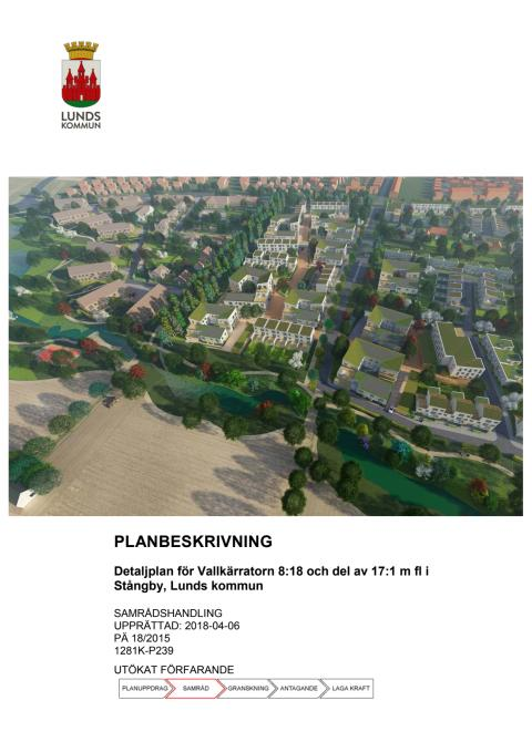 Planbeskrivning för Södra Råbylund