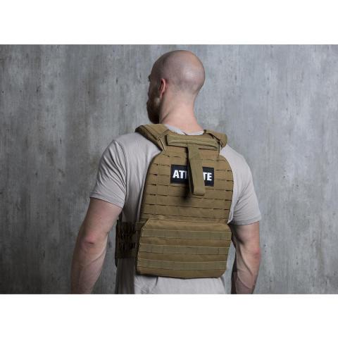 Battle Vest grün Model back 10031688