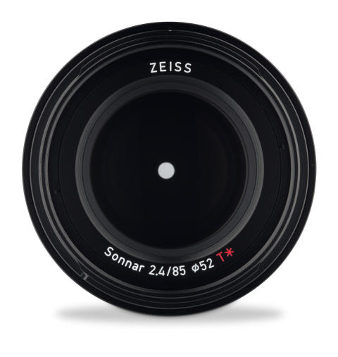 Loxia 85mm 2.4 front