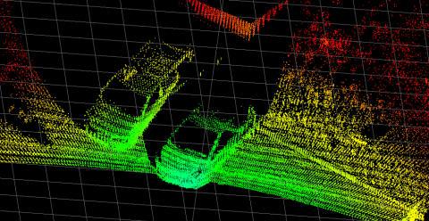 Hokuyo 3D laserscanner