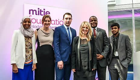 Mitie celebrates first anniversary of Foundation