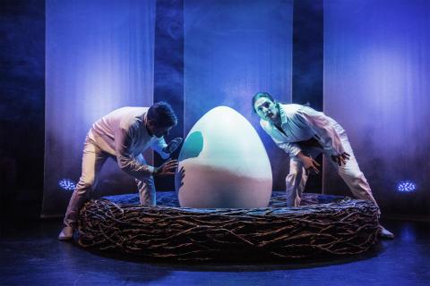 Ägget av Lennart Hellsing på Unga Teatern