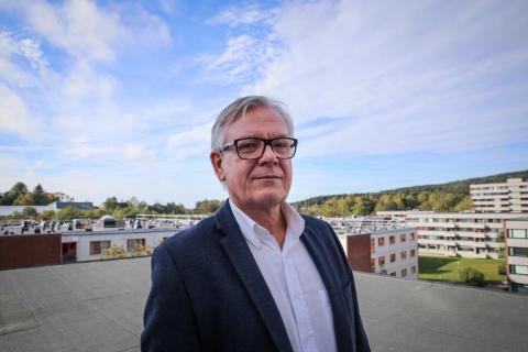 Trond Bakke, direktør i SiO Bolig, Studentsamskipnaden i Oslo og Akershus (SiO)
