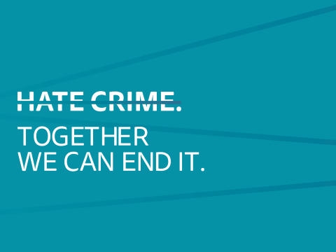 Let's end hate crime: #We Stand Together in Bury