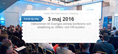 En återblick till Forum4IT Affärssystem & HR 2016 i Göteborg