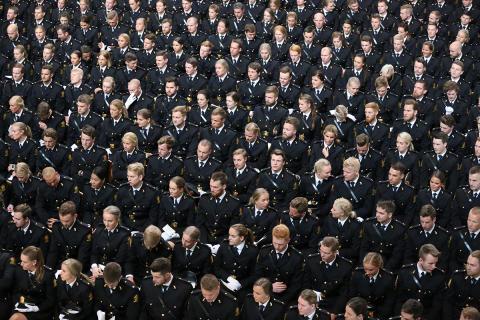 Nå øker andelen nyutdannet politi i jobb