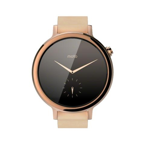 MOTOROLA Moto 360 2nd Gen 42 mm - Rose Gold