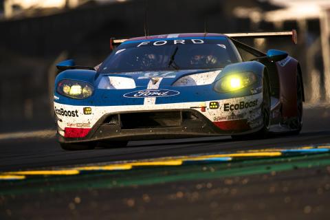 Ford med sterk 2. plass i Le Mans