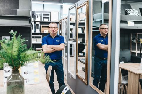 Michał Pacyno, kierownik działu konceptu