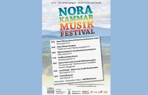 Rolf Martinsson – festivaltonsättare i Nora