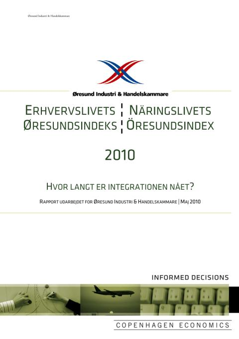 Näringslivets Öresundsindex 2010