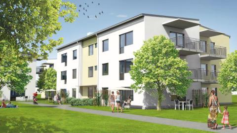 12 nyproducerade lägenheter i Villastaden