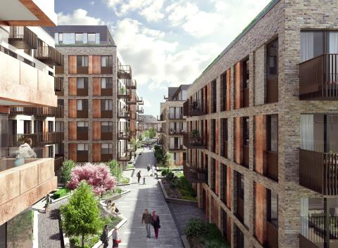 Brownfield site in Deptford to become new neighbourhood